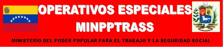 OPERATIVOS ESPECIALES MINPPTRASS