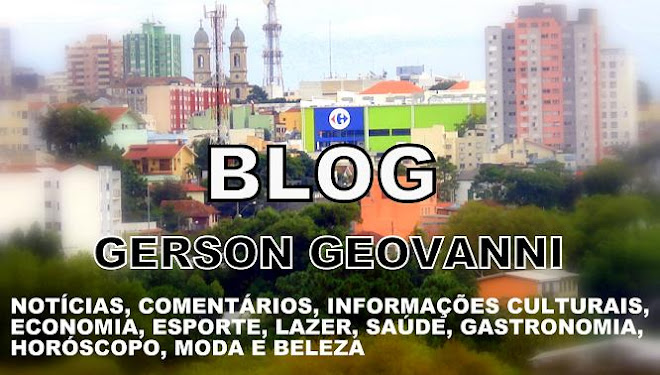 BLOG DO GERSON GEOVANNI