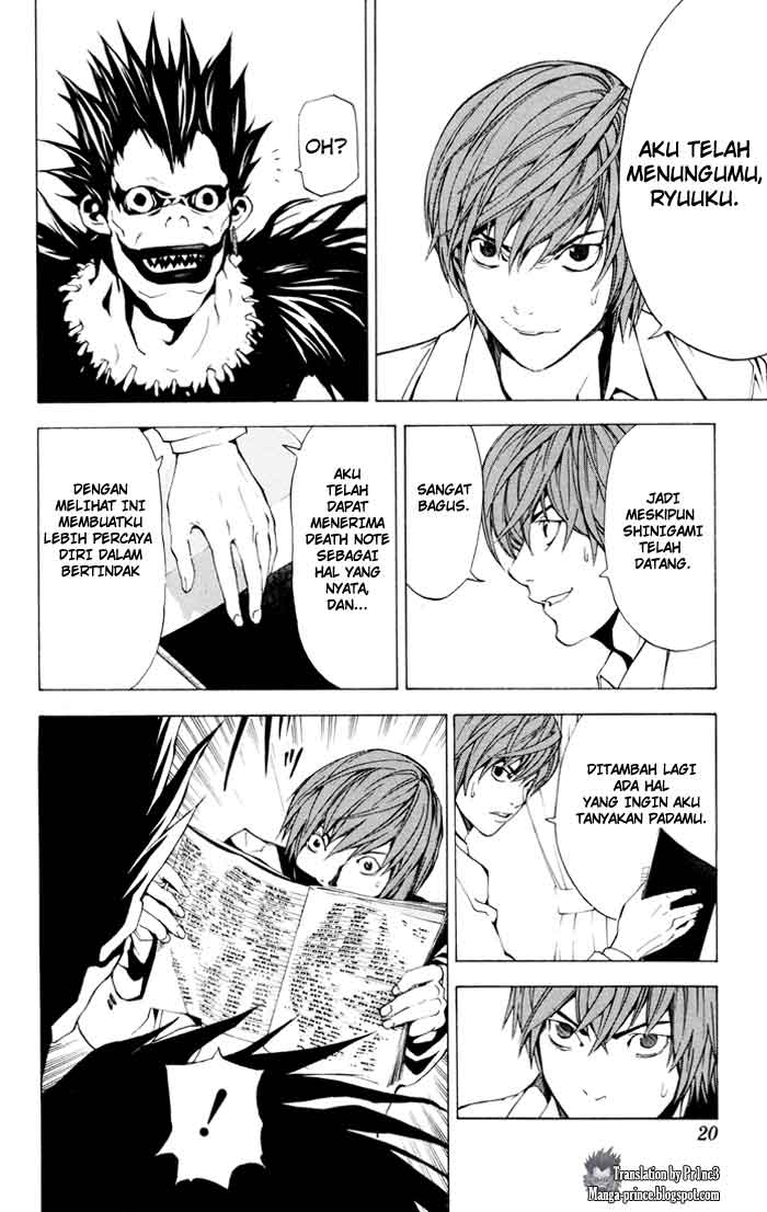 Death Note page 18