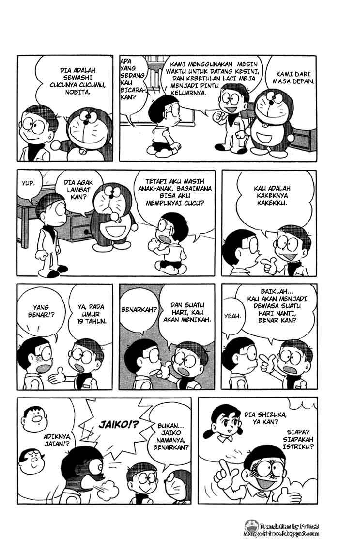 Gambar Manga Doraemon Hal 10