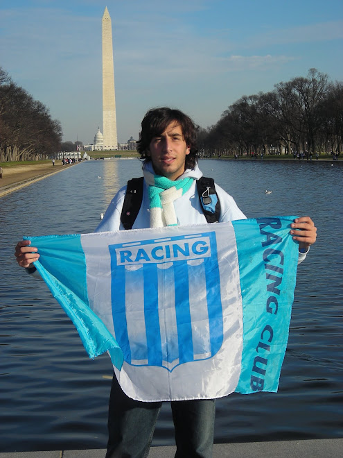 Washington es de Racing...