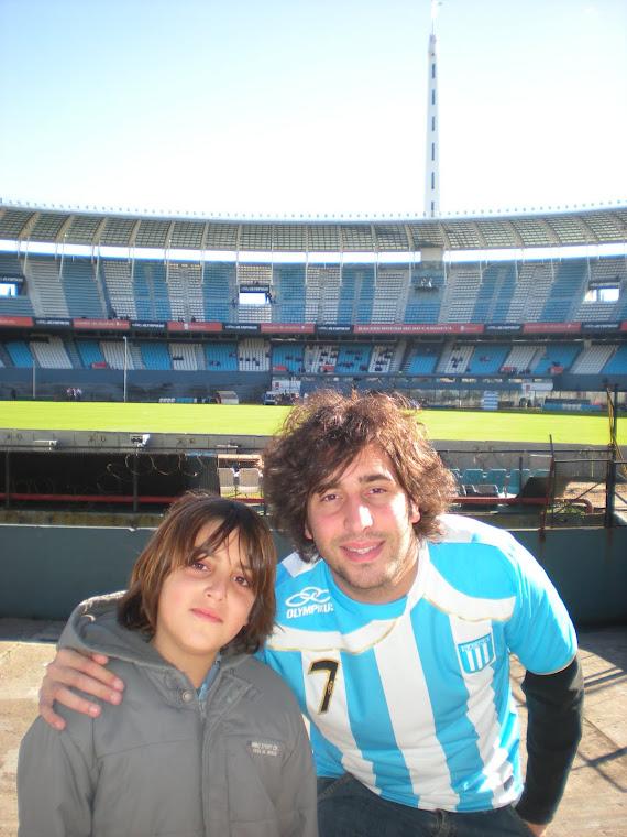 Uno más... Santi y Rafi en el cilindro...