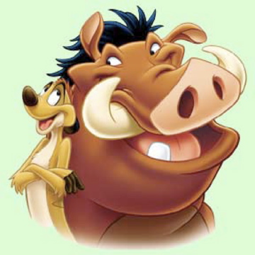 "Timon and Pumba, ""The Lion"