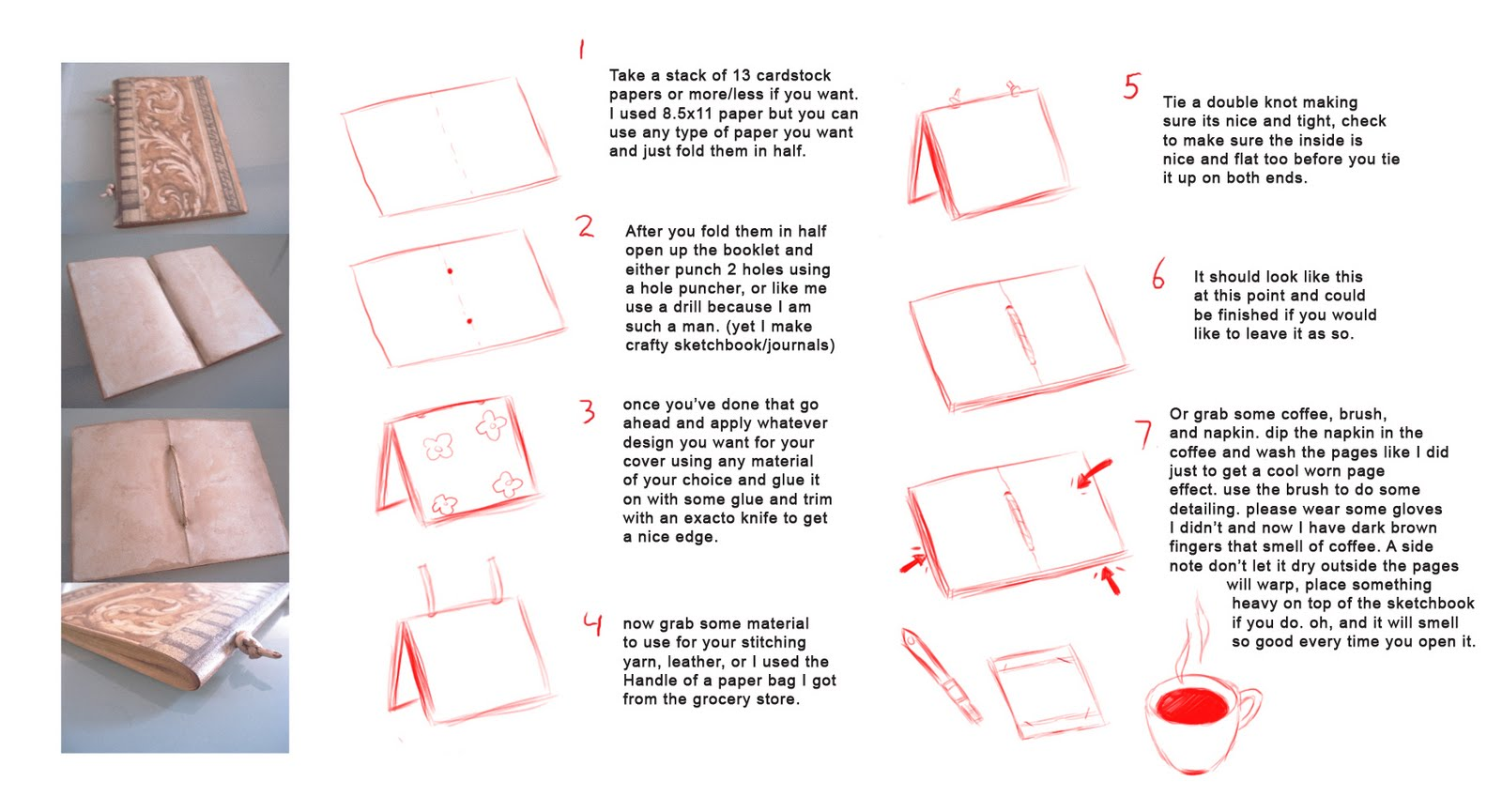How to make a journal book easy