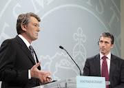 В.Ющенко та А. Расмусен