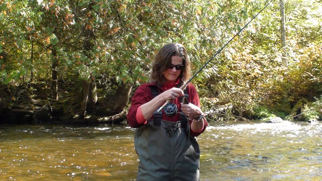 Arrowhead fly angler tr with bea di on the brule river for Brule river fishing report