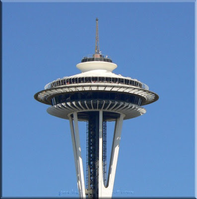 Space Needle Logo. Seattle#39;s Space Needle