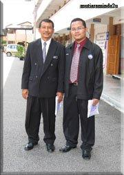 Bersama Mantan Yang DiPertua Majlis Guru Kaunseling Kebangsaan En. Zamzan