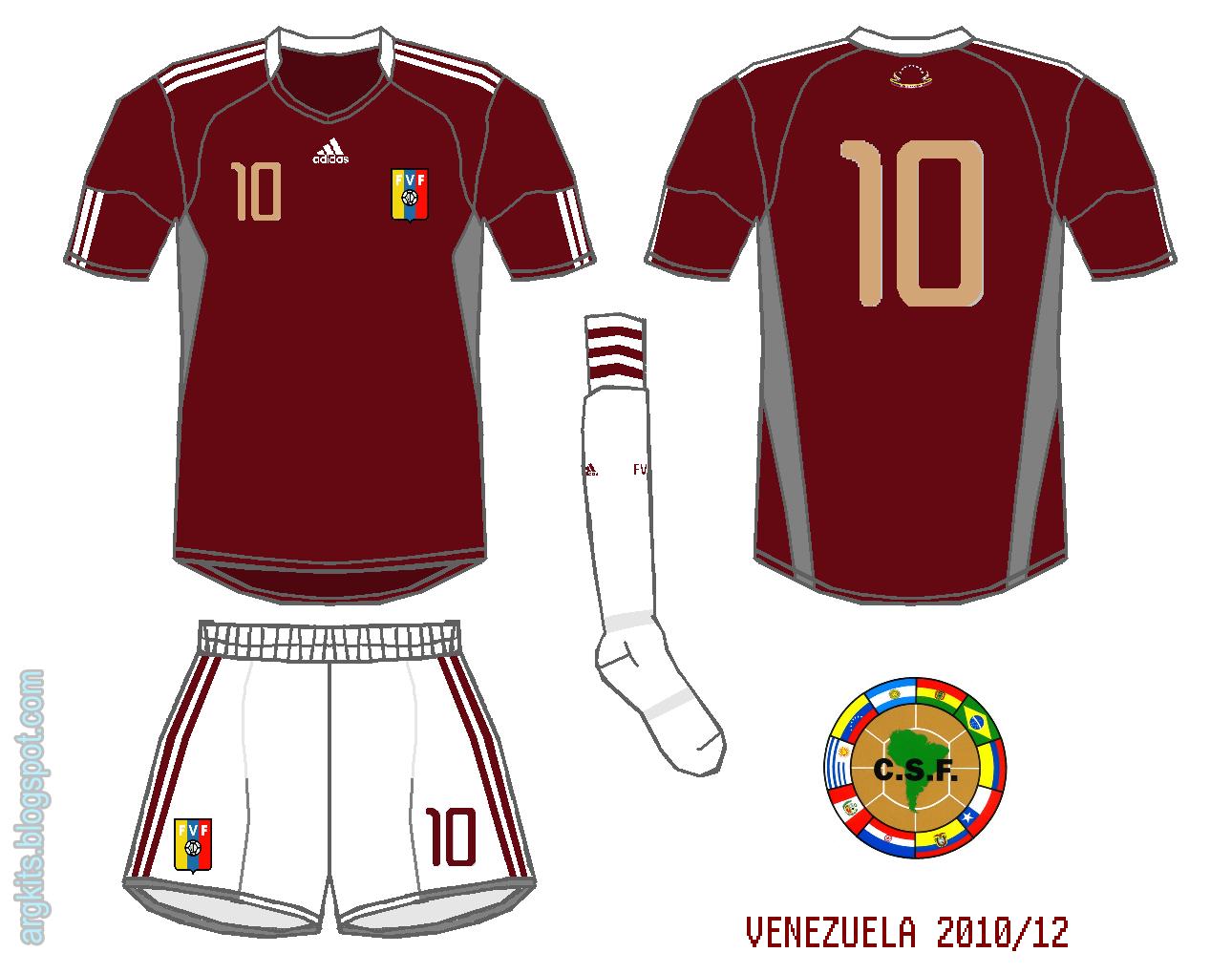 Venezuela 2010/12 (home)