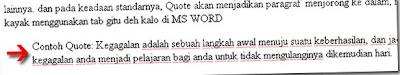contoh quote