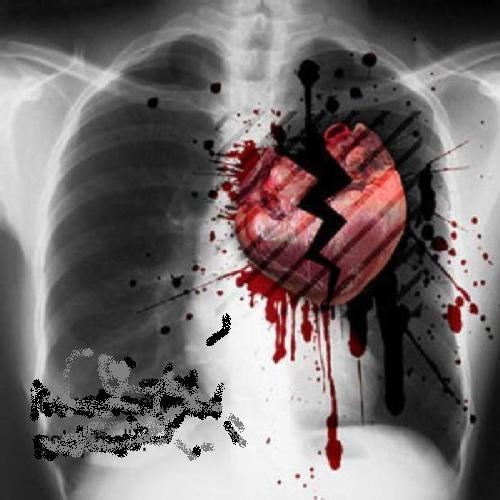 amor corazones. corazones rotos por el amor