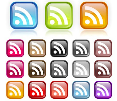 Vector RSS Icons