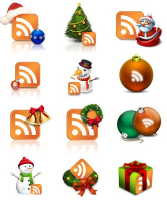 Christmas RSS Icons