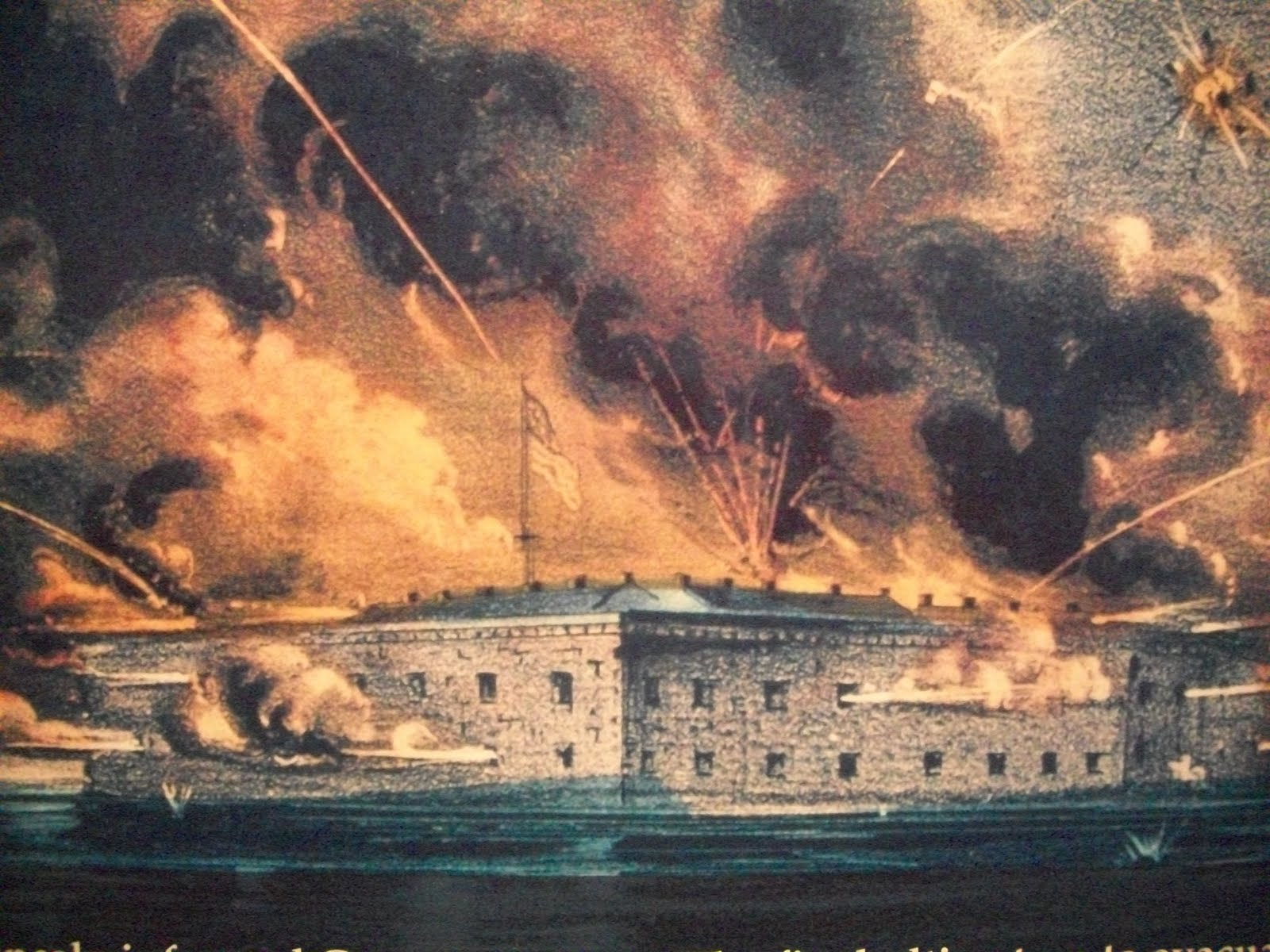 Hooves, Heels, and Wheels: Fort Sumter National Monument - Delco ...