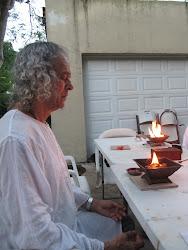 Orlando Polo concentrado en su sanacion Homa