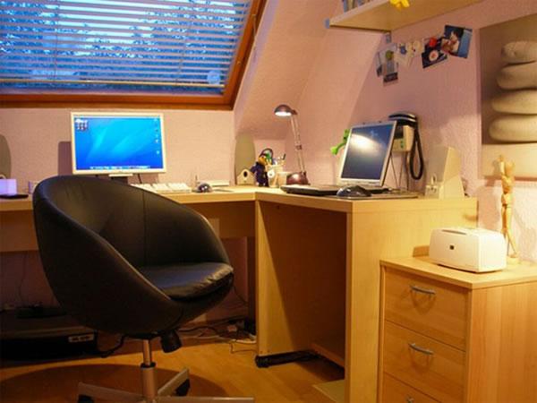 Imagens [Espantosas] Os mais incríveis escritórios em casa  Escritorio19