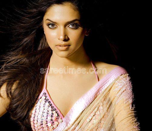 Deepika Padukune : Saree Blouse Design. Bollywood actress Deepika Padukune
