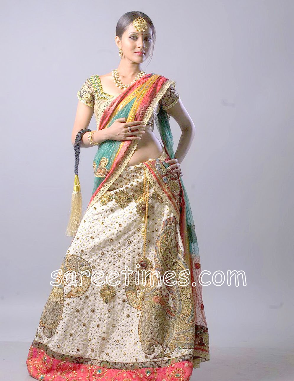 Half Saree Designers in Hyderabad http://www.sareetimes.com/2010/04/indian-designer-half-saree.html