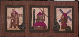Les moulins 40cm x 90cm  14€