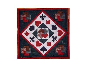 La dame de coeur (tapis de cartes) 15€