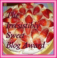 The Irresistible Sweet Blog Award
