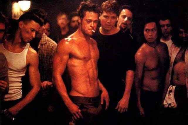 brad pitt fight club workout abs. 2011 Brad Pitt Abs Fight Club