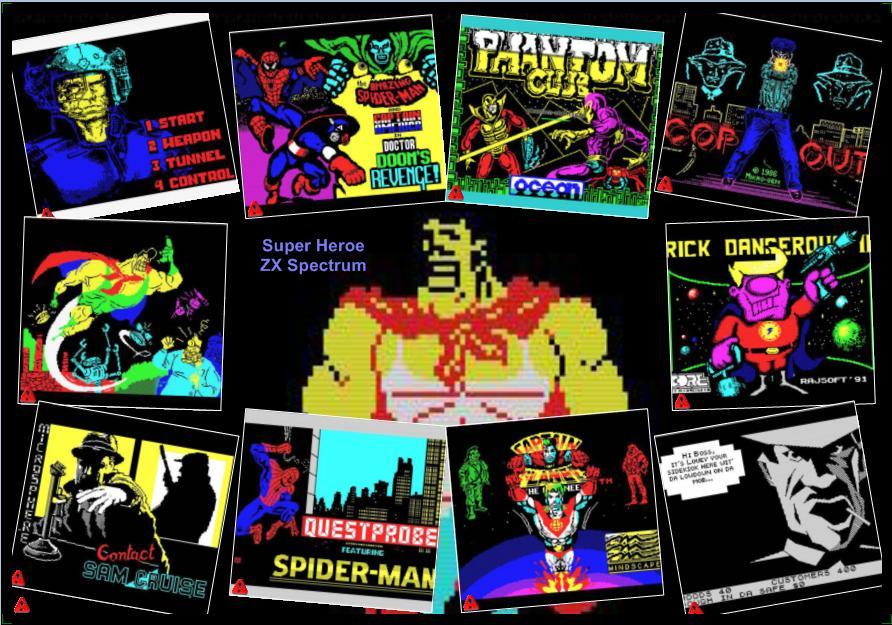 Nostalgia ZXspectrumTP (Catalogo Juegos): Posters ZX Spectrum
