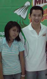 with taufik hidayat
