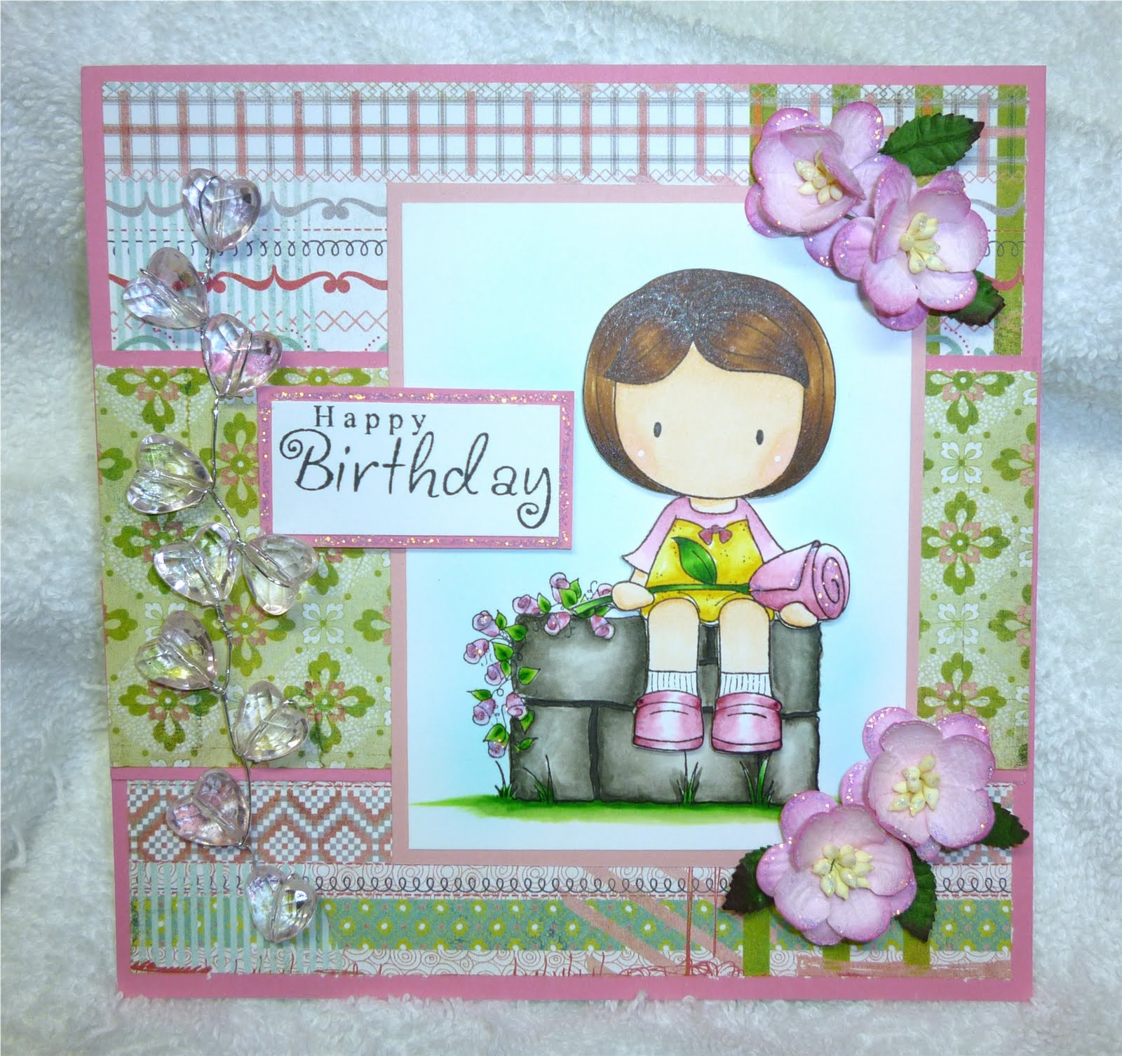 Big Ideas From A Little Girl: Beautiful Birthday Cards