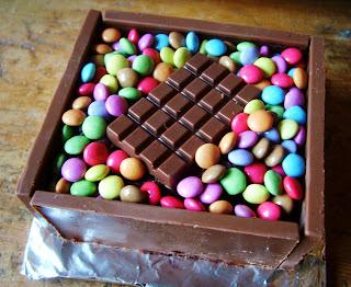 how to make a chocolate box cake