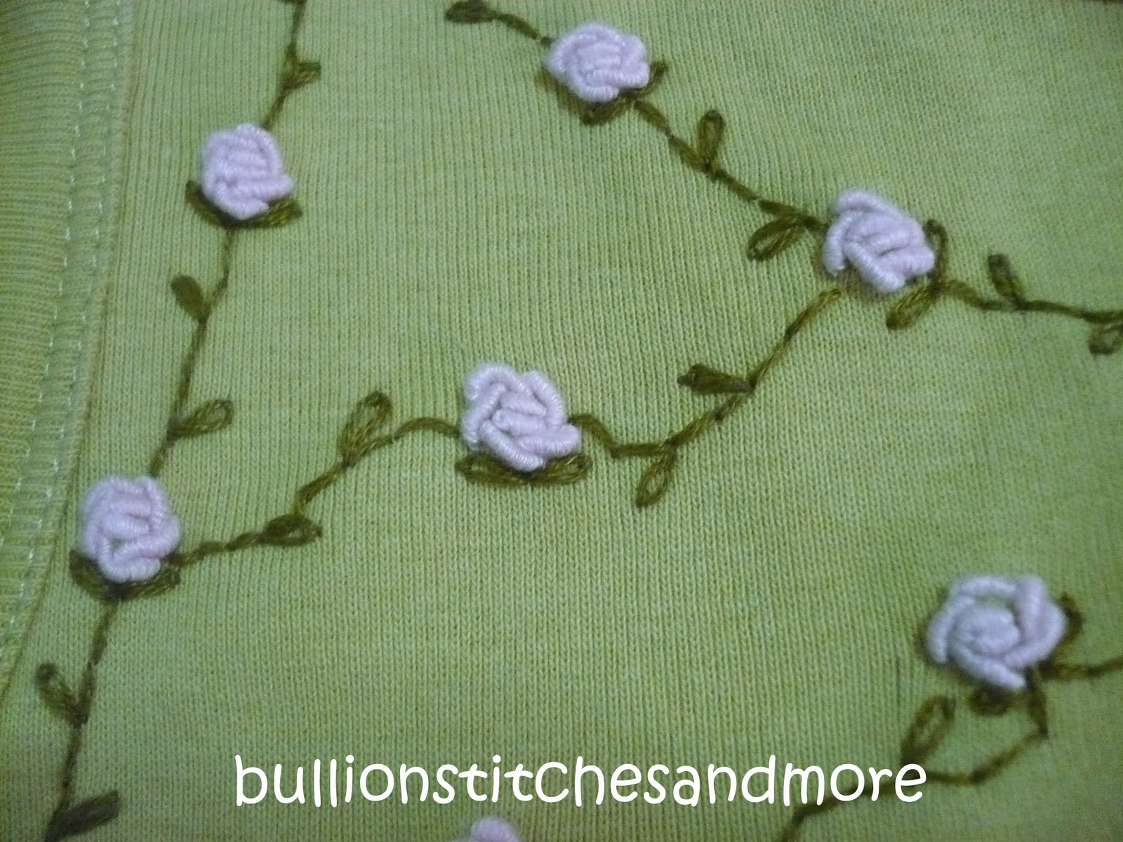 Rose stitch embroidery images