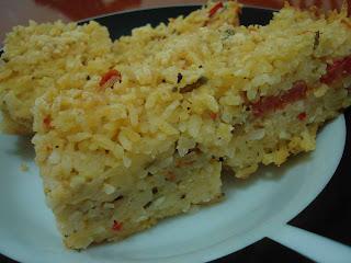 assado de arroz