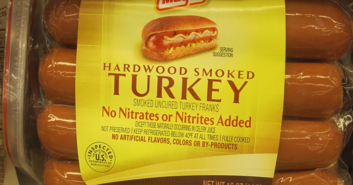 No Nitrate Turkey Hot Dogs