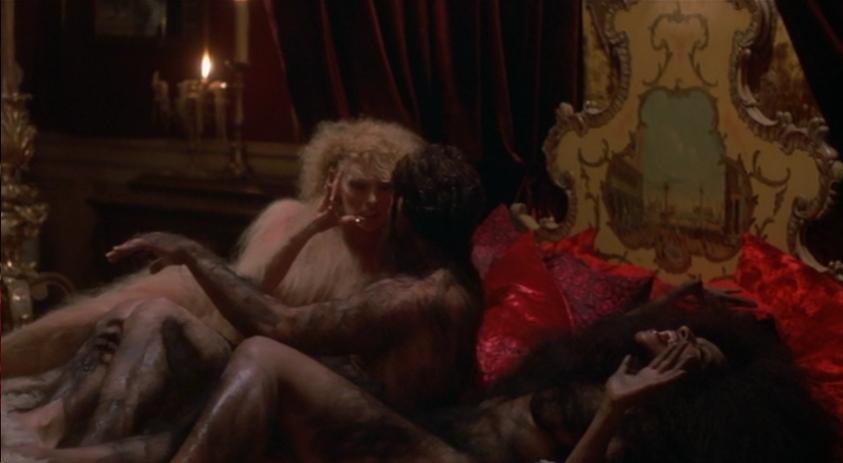 the howling ii orgy scene