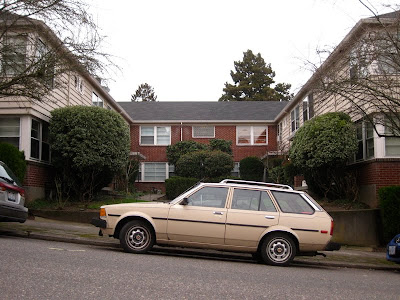 old parked cars 1982 toyota corolla wagon toyota corolla dx 1980