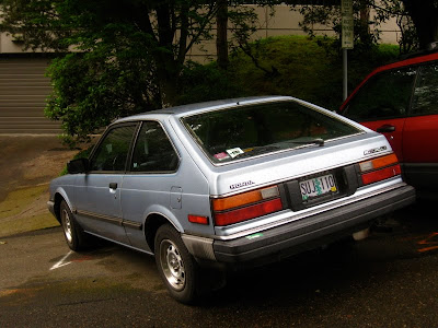 Old Parked Cars 1983 Honda Accord Hatchback
