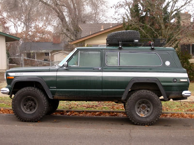 1977 Jeep Cherokee Chief Parts http://www.oldparkedcars.com/2009/12/1977-jeep-cherokee-chief.html