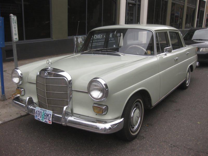 Old parked cars 1966 mercedes benz 200 diesel for Mercedes benz diesel models