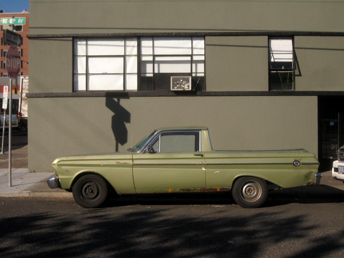 1965 Ford Ranchero.