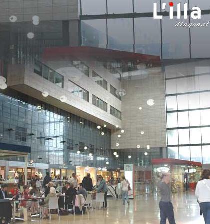 Un paseo por barcelona con laura centros comerciales for Centro comercial l illa