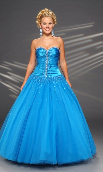 he Cinderella prom dress with