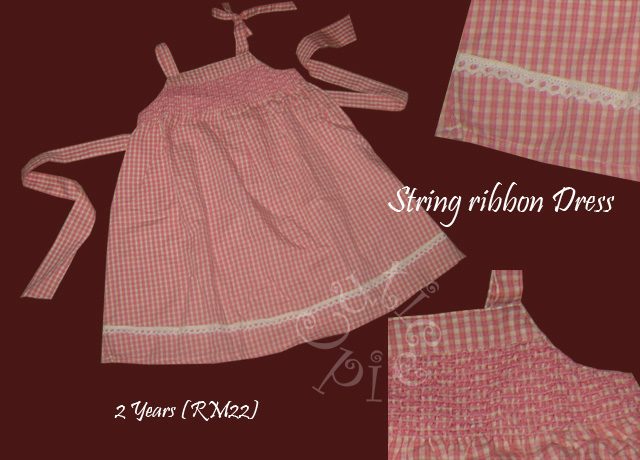 String Ribbon Dress