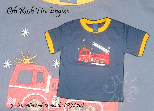 Osh Kosh Fire Engine