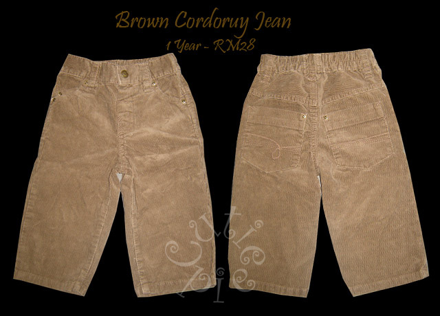 Brown Corduroy