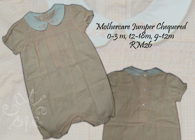 Mothercare Jumper Chequered