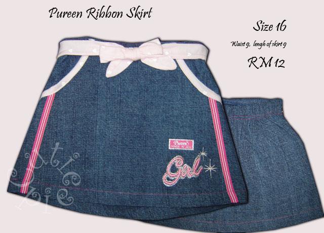 Pureen Ribbon Skirt