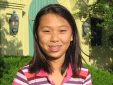 Clara Ma, winner of the Mars Science Laboratory naming contest.