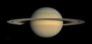 Cassini's view of Saturn.