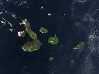 The Galapagos Islands were created by volcanic eruptions and have gone relatively untouched by humans over the past few millennia.