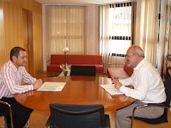 Reunión de trabajo con el Conseller de Presidencia